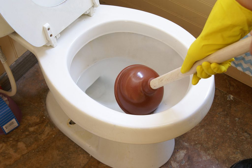Use Your Plunger Properly