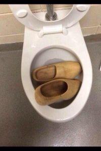 toilet is blocked