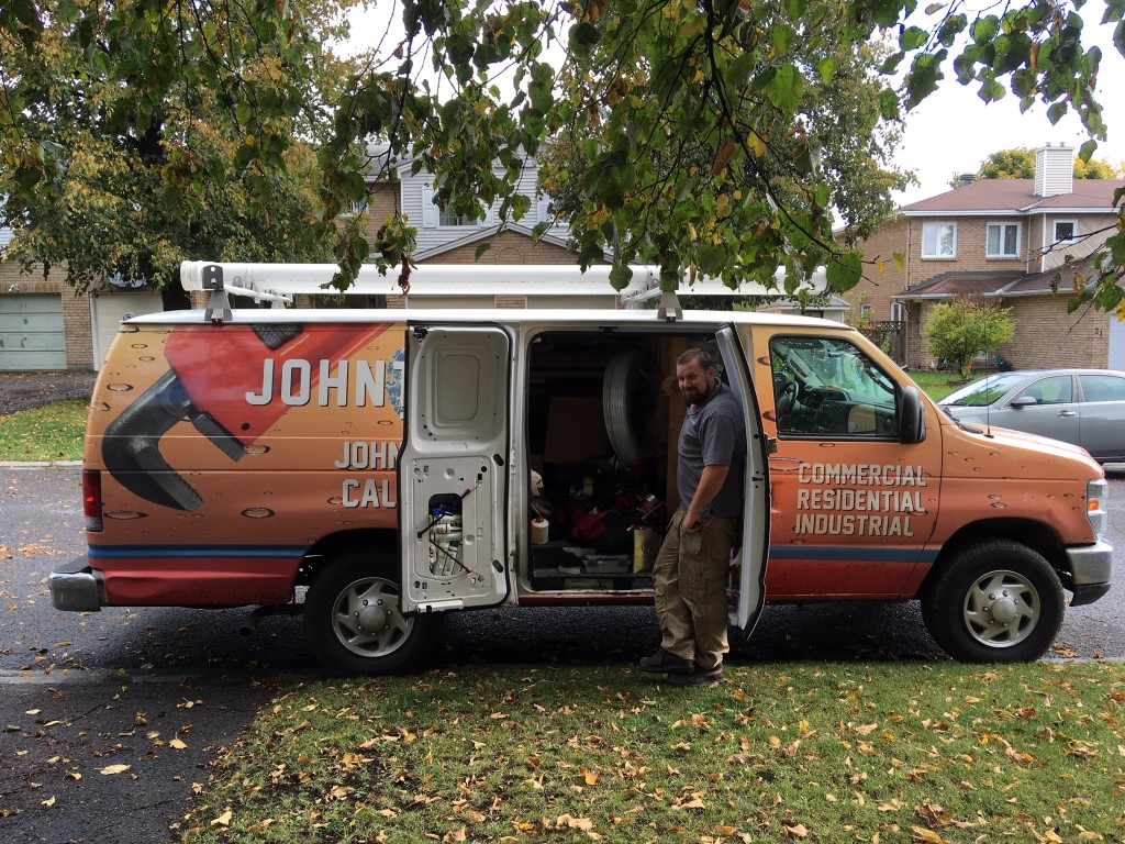 Orange Van John The Plumber
