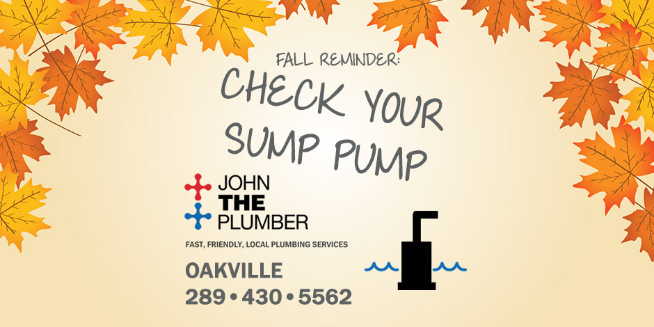 Check Your Sump Pump