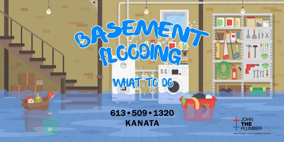 basement flooding Kanata