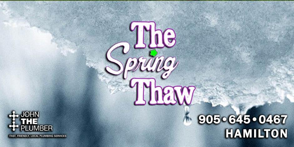 spring thaw hamilton