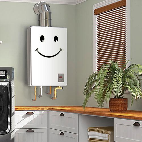 Save Space - On Demand Water Heater