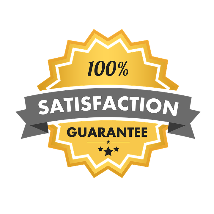 Plumbing 100% Satisfaction Guarantee