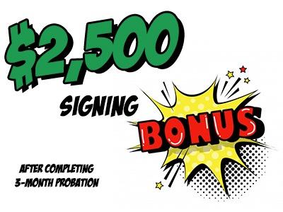 signing bonus
