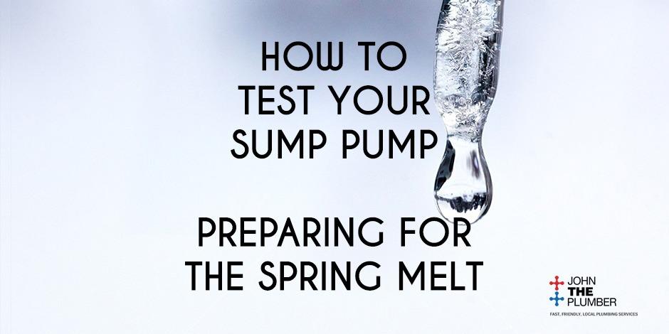 Prepare for the Spring Melt