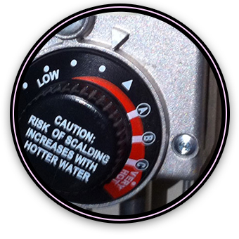 Adjusting the Water Heater Temperature